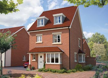 "Thumbnail 4 bed detached house for sale in ""The Wimborne"" at Winchester Road, Hampshire, Botley"
