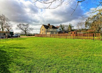 Thumbnail 3 bed semi-detached house for sale in Throcking, Buntingford