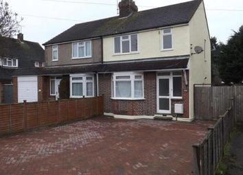 Thumbnail 3 bed semi-detached house to rent in Aubrey Gardens, Toddington Road, Luton