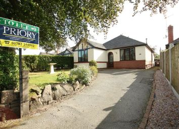 Thumbnail 3 bed detached bungalow to rent in Park Lane, Knypersley, Stoke-On-Trent