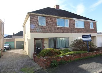 3 bed semi-detached house for sale in St. Margarets Road, Plympton, Plymouth PL7