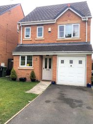 Thumbnail 4 bed detached house to rent in Quarry Bank Rise, Winsford, Cheshire