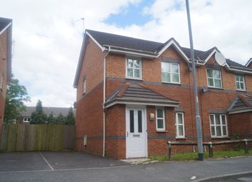 Thumbnail 3 bed semi-detached house to rent in Melland Road, Manchester