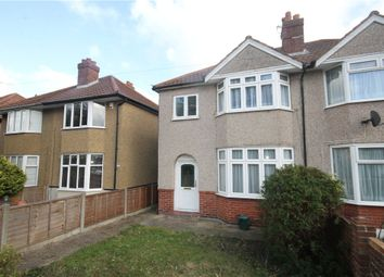Thumbnail 3 bed property to rent in Pooley Green Road, Egham, Surrey