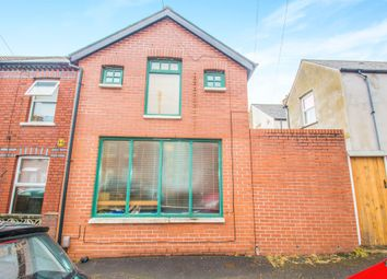 Thumbnail 1 bed property for sale in Florentia Street, Roath, Cardiff