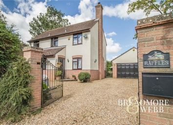 Thumbnail 3 bed detached house for sale in Toppesfield Road, Great Yeldham, Halstead