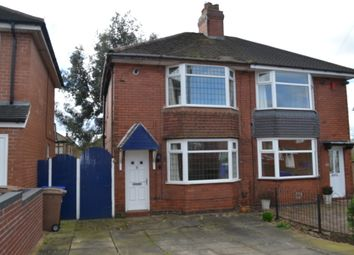 Thumbnail 2 bedroom semi-detached house for sale in Collis Avenue, Stoke-On-Trent