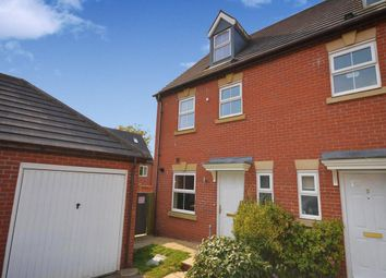 Thumbnail 4 bed property to rent in Woodyard Close, Castle Gresley, Swadlincote