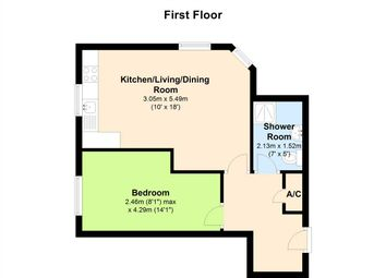 Thumbnail 1 bed flat to rent in Excelsior House, Ufton Lane, Sittingbourne
