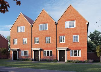 "Thumbnail 3 bed terraced house for sale in ""The Beech"" at Curbridge, Botley, Southampton"