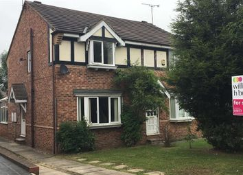 Thumbnail 3 bed semi-detached house to rent in Grove Lane, Hemsworth, Pontefract