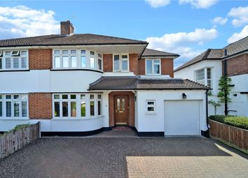 Thumbnail 4 bed semi-detached house for sale in Timbercroft, Epsom, Surrey