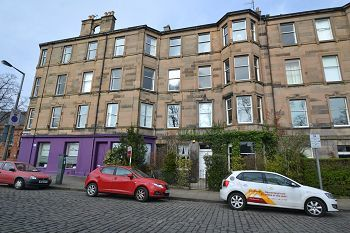 Thumbnail 4 bed flat to rent in Thirlestane Road, Edinburgh