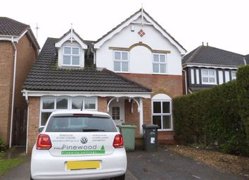Thumbnail 4 bed detached house to rent in Parkhouse Close, Clay Cross, Chesterfield, Derbyshire