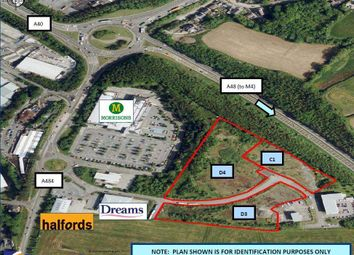 Thumbnail Light industrial for sale in Land At Parc Pensarn, Carmarthen