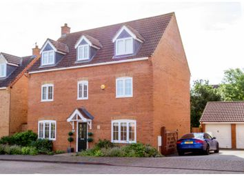 Thumbnail 5 bed detached house for sale in Eardley Place, Milton Keynes