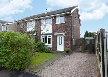 Thumbnail 3 bedroom semi-detached house for sale in Avion Close, Meir Park, Stoke-On-Trent