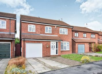 Thumbnail 4 bed detached house for sale in Girvan Close, Woodthorpe, York
