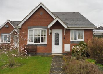 Thumbnail 2 bed bungalow for sale in Cae Haidd, Llanymynech, Powys