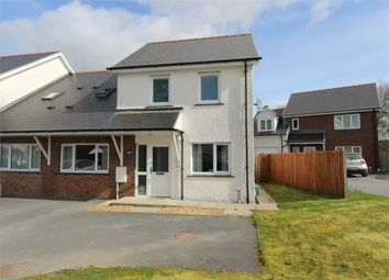 Thumbnail 3 bed semi-detached house for sale in Cwrt Deri, Cwmann, Lampeter, Carmarthenshire