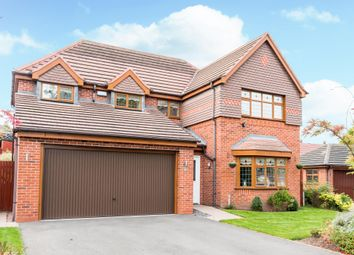 Thumbnail 4 bed detached house for sale in Field Maple Road, Streetly