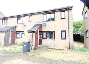Thumbnail 1 bed maisonette to rent in Chertsey Close, Luton