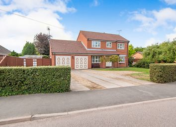 Thumbnail 4 bed detached house for sale in Station Road, Long Sutton, Spalding