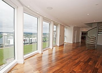 Thumbnail 4 bedroom flat for sale in The Heart, Mediacity UK, Salford Quays