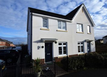 Thumbnail 2 bed semi-detached house for sale in Bryn Celyn, Llanharry, Pontyclun