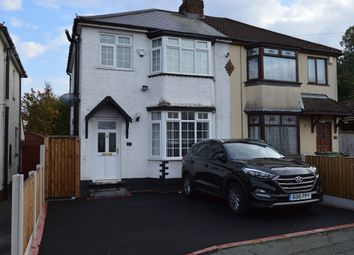 Thumbnail 3 bedroom semi-detached house for sale in Mount Road, Willenhall