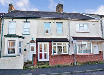 Thumbnail 2 bed terraced house for sale in Shakespeare Road, Upper Gillingham, Kent