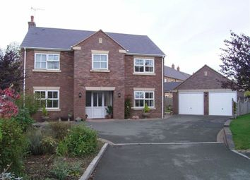 Thumbnail 4 bed detached house for sale in Rivendell, The Brambles, Crew Green, Powys