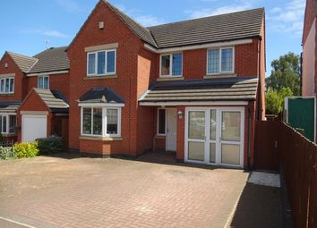 Thumbnail 4 bed detached house for sale in Cork Lane, Leicester