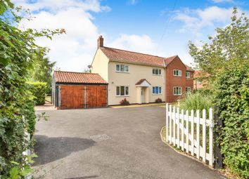 Thumbnail 3 bed detached house for sale in Norwich Road, Tacolneston, Norwich