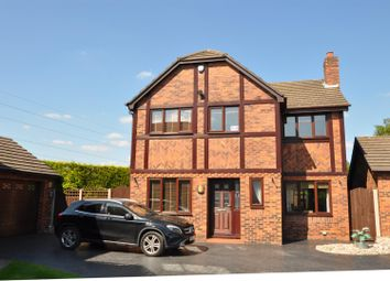 Thumbnail 4 bed detached house for sale in The Oaks, Hyde