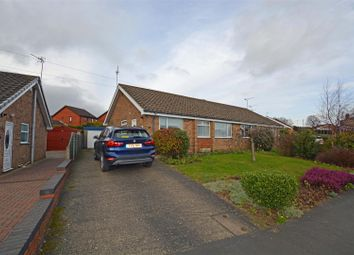 Thumbnail 3 bed semi-detached bungalow for sale in Lincoln Drive, Winterton, Scunthorpe