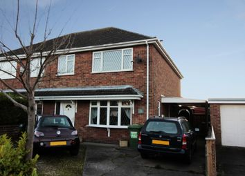 Thumbnail 3 bed semi-detached house for sale in Birkdale, Grimsby, South Humberside
