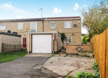 Thumbnail 3 bedroom end terrace house for sale in Avonside Drive, Evington, Leicester