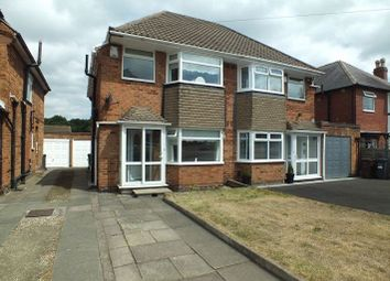Thumbnail 3 bed semi-detached house to rent in Yardley Wood Road, Shirley, Solihull