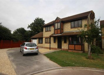 Thumbnail 4 bed detached house for sale in Stabbins Close, Weston-Super-Mare