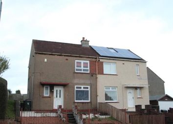 Thumbnail 2 bed semi-detached house for sale in Todhill Avenue, Kilmarnock, East Ayrshire