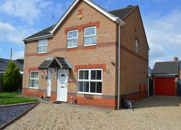 Thumbnail 3 bedroom semi-detached house to rent in Lupin Road, Lincoln