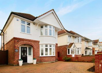 Thumbnail 3 bed detached house for sale in Broughton Avenue, Bournemouth