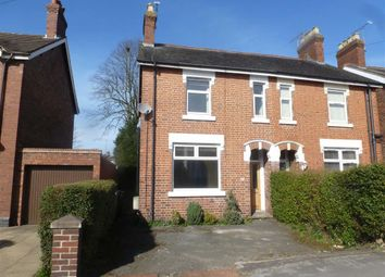 Thumbnail 3 bed semi-detached house to rent in Crewe Road, Alsager, Stoke-On-Trent