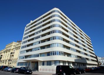 Thumbnail 3 bedroom flat for sale in Embassy Court, Brighton