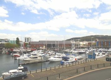 Thumbnail 2 bed flat for sale in Ambassador House, Trawler Road, Swansea