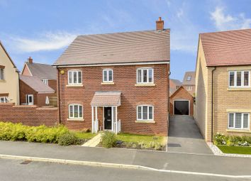 Thumbnail 4 bed detached house for sale in Cannock Crescent, Desborough, Kettering