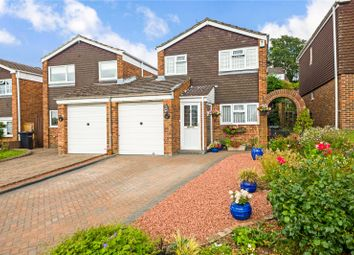 Thumbnail 3 bed link-detached house for sale in The Braes, Higham, Rochester, Kent