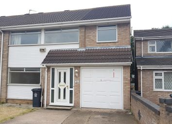 Thumbnail 5 bed semi-detached house to rent in Gleneagles Avenue, Rushey Mead, Leicester