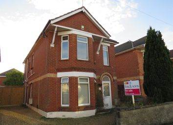 Thumbnail 2 bed flat for sale in Shaftesbury Road, Bournemouth